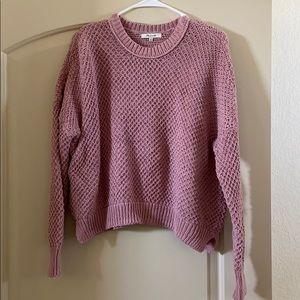 Pink Madewell sweater